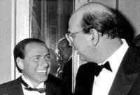 Berlusconi insieme Craxi
