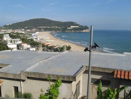 Una spiaggia di Gaeta