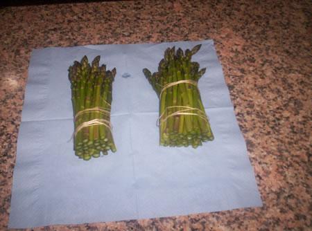 Legatura degli asparagi