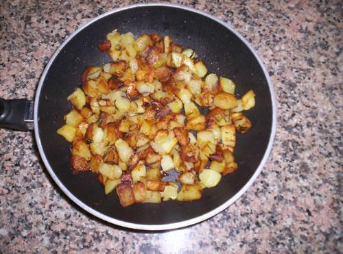 Le patate in padella
