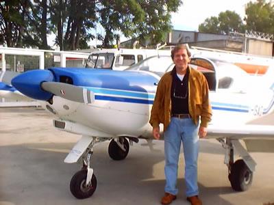 Nel 2000, all'Urbe, poco prima di un volo