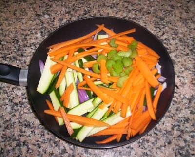 Verdure alla salsa di soia