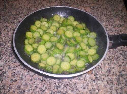 Le zucchine pronte