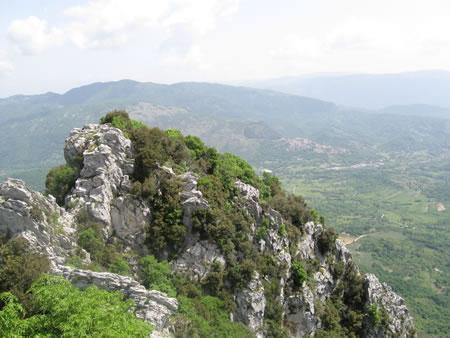 Paesaggio dal Santuario della Mentorella